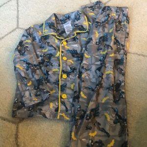Boys Batman Pajamas 4/5 XS